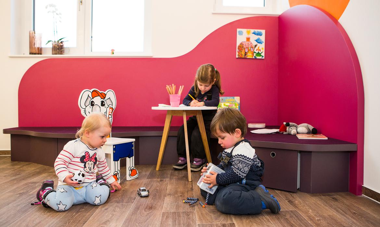 Kinderecke Praxis Zahnbaum